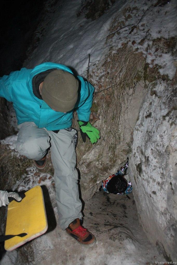 Пещера в Подкаменной горе