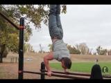Крепость Фитнес - Тренировка плеч на брусьях и отжиманиях