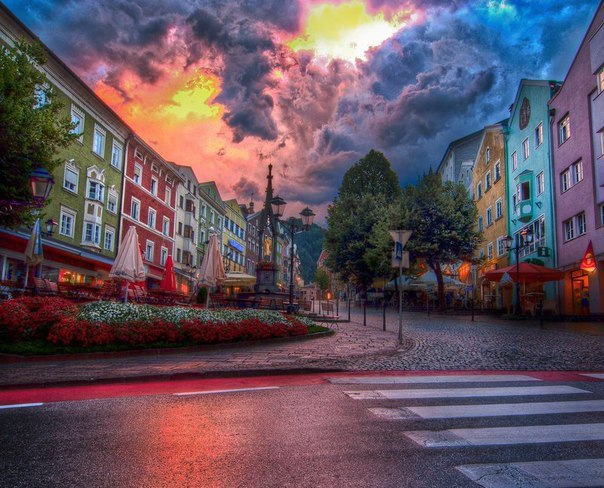 Город Куфштайн, Австрия