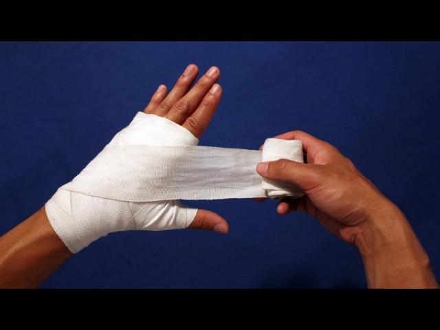 Как Бинтовать Руки - БОКС (самый лучший способ)