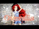 DIY How to Make Doll Overalls Handmade Fashion Doll Crafts