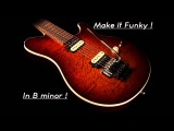 Backing Track 13  Crazy Funk in B minor !