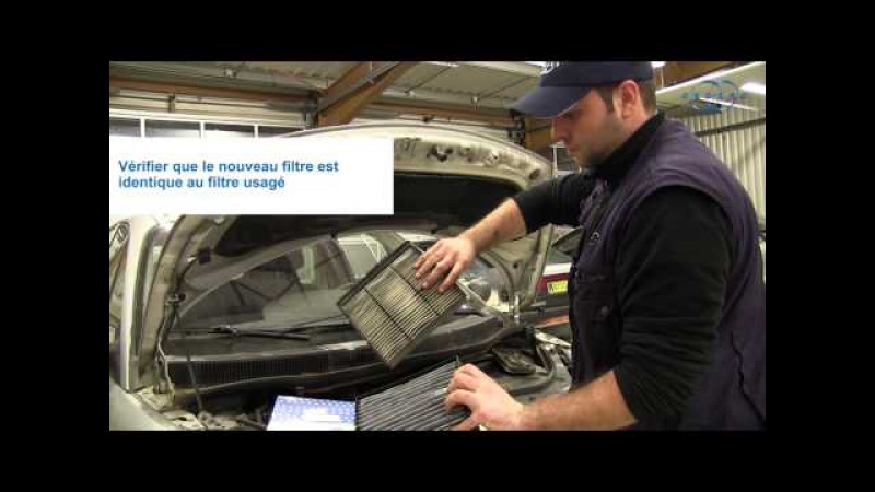 Renault Scénic dci - Comment remplacer son filtre d'habitacle ?