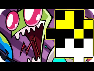 INVADER ZIM DATING SIM Let's Play Drive Through