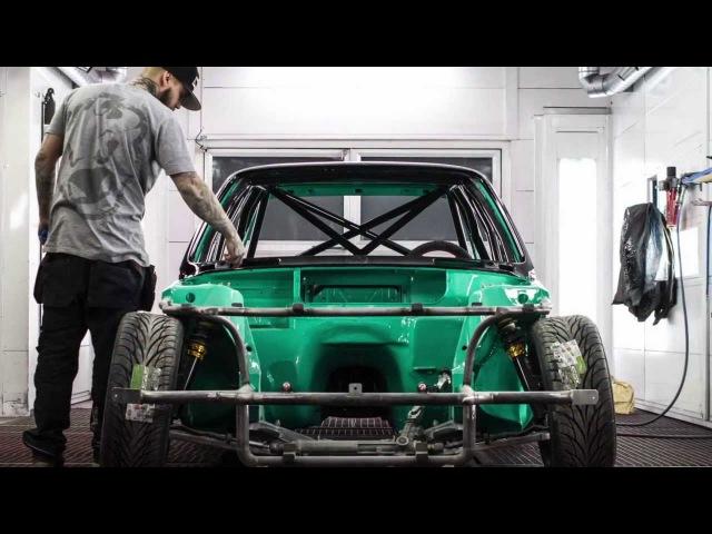Bmw e30 turbo 2jz drift car | L-M-R Drift Alliance | Part 1 - The paint job | Onroaders.com