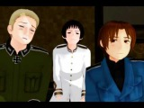 MMD x APH - Italy Teaches the Art of Goofing Off