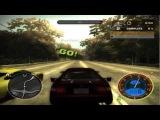 Nfs Most Wanted - Toyota Celica GT Four vs Porsche Carrera S [HD].