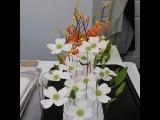Красивые и простые цветы кизила из мастики