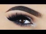 Уроки макияжа. Макияж глаз. Нанесение теней.