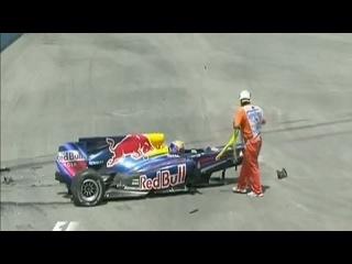 Авария на Гран-при Европы в формуле 1