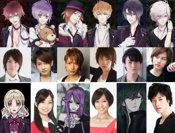 Персонажи Diabolik Lovers По аниме и играм в жанре визуальных новелл «Дьявольские возлюбленные»