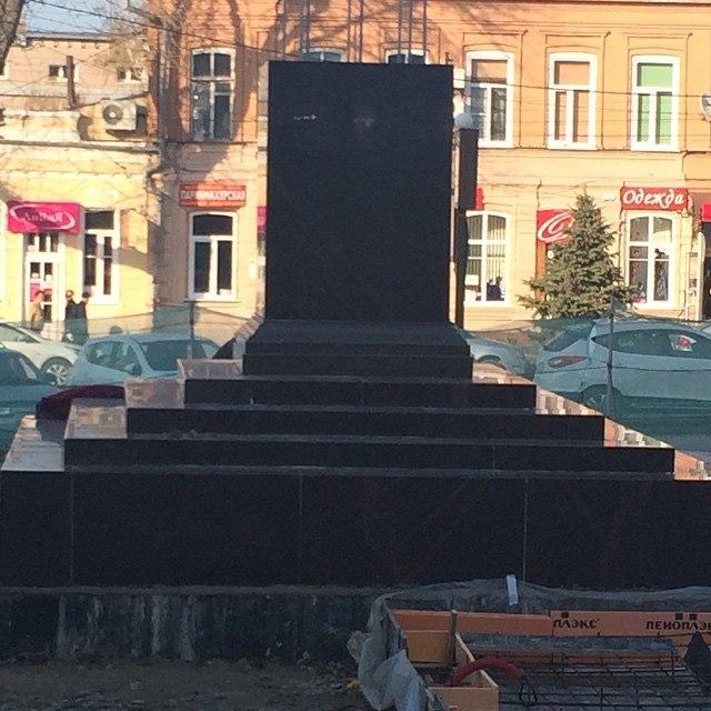 В Таганроге стела города Воинской славы будет открыта 8 мая