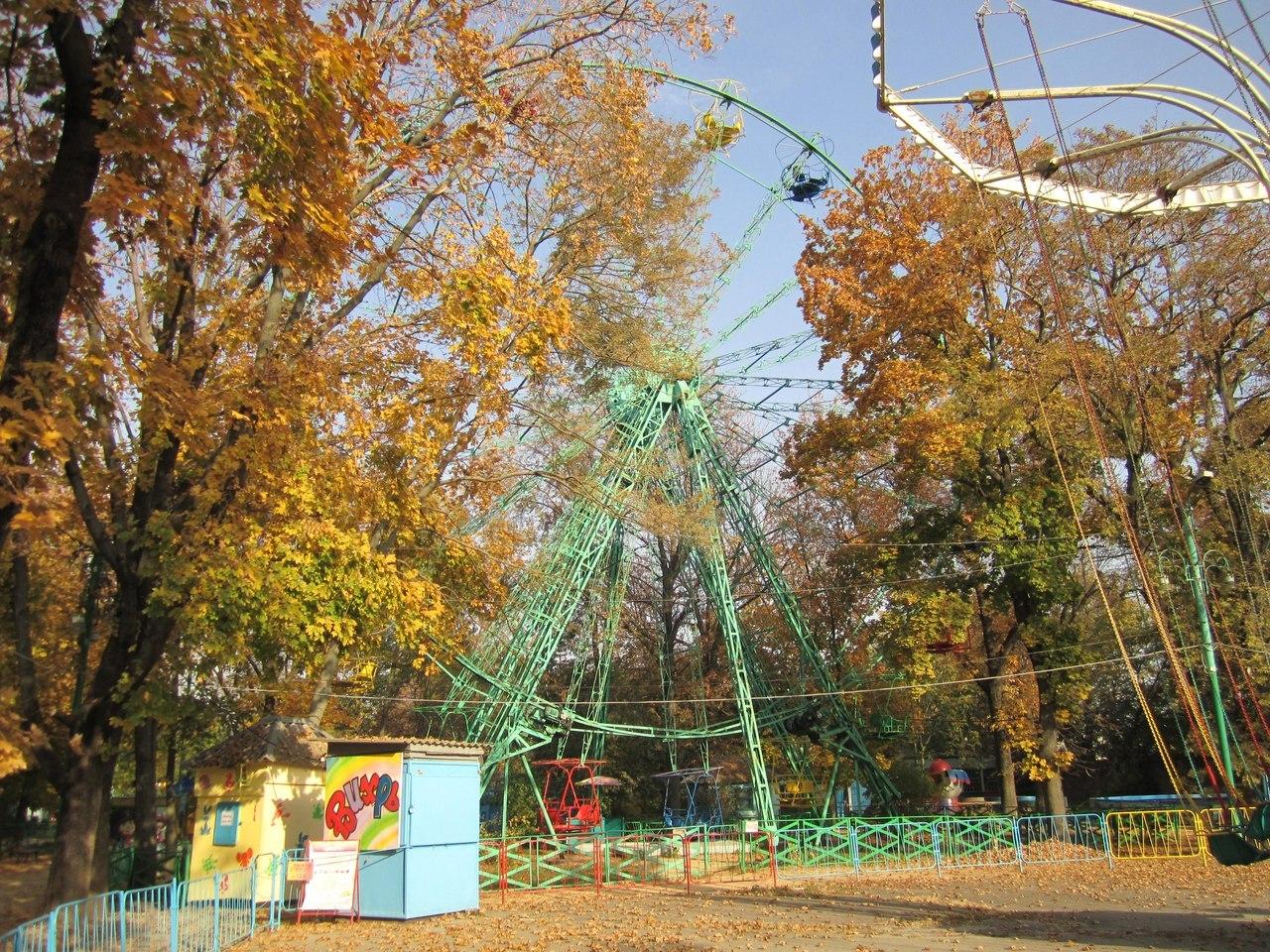 Анонс мероприятий таганрогского парка имени Горького