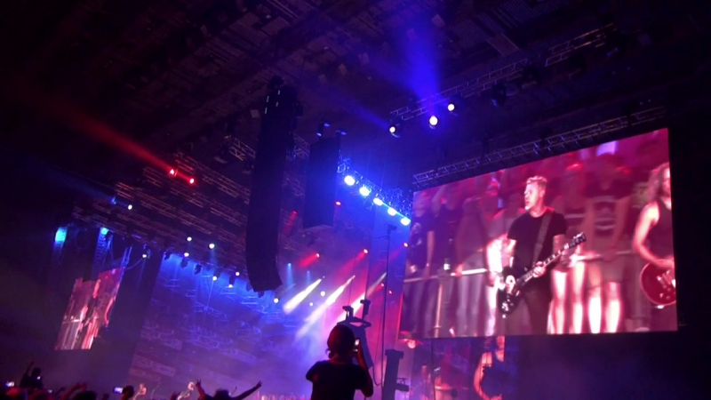 Metallica - Turn the Page (Фрагмент, Live in St. Petersburg 25.08.2015)