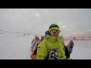 Сноутюбинг в Урюпинске / Snow Tubing in Uryupinsk (2015)