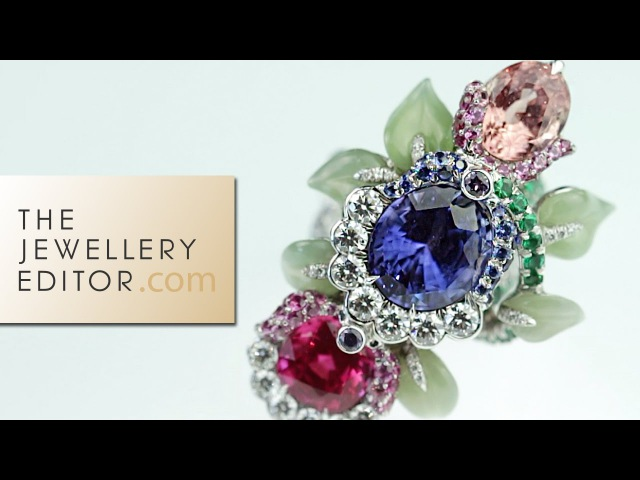 Fabergé jewellery exclusive a Secret Garden of coloured gemstones