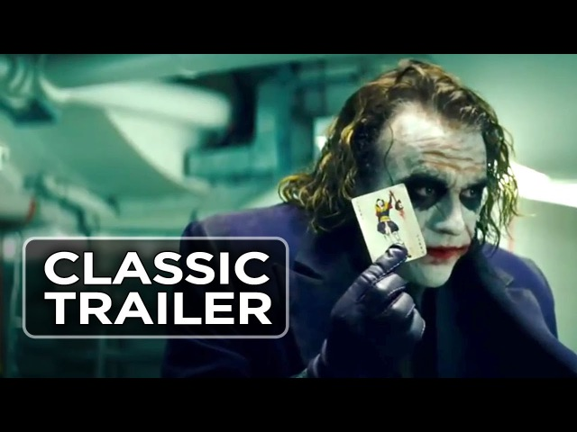 The Dark Knight (2008) Official Trailer 1 - Christopher Nolan Movie HD