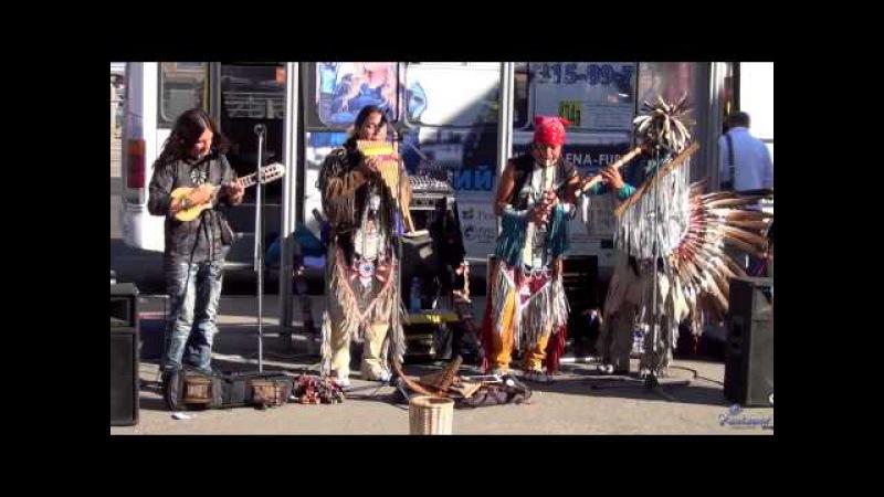 Индейцы на невских берегах Часть 2 2013