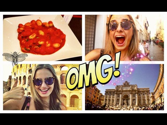 Блогер GConstr в восторге! Я В ВОСТОРГЕ..ЭТО РИМ! VLOG ☀Поездка в Италию!. От Сони Есьман