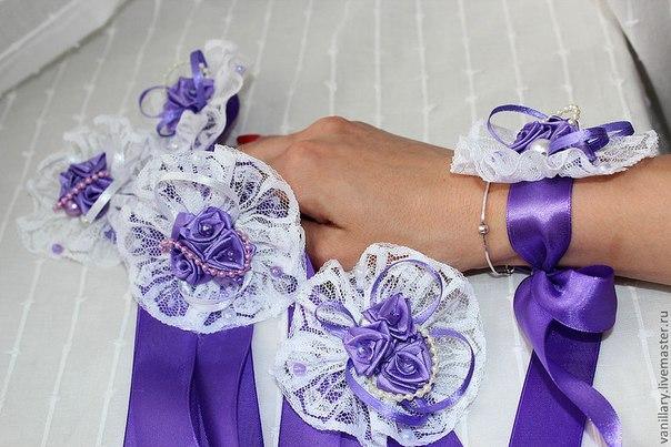 Повязки для подружек невесты своими руками
