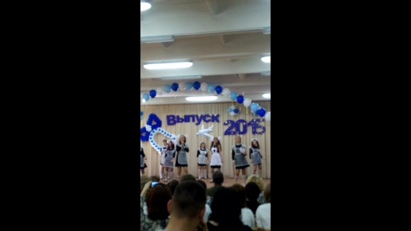 Танец на последний звонок. Физ-ра. Школа №131, выпуск 2015. г. Новосибирск.