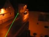 Зеленая лазерная указка, видимость луча ночью http://green-laser.ru/