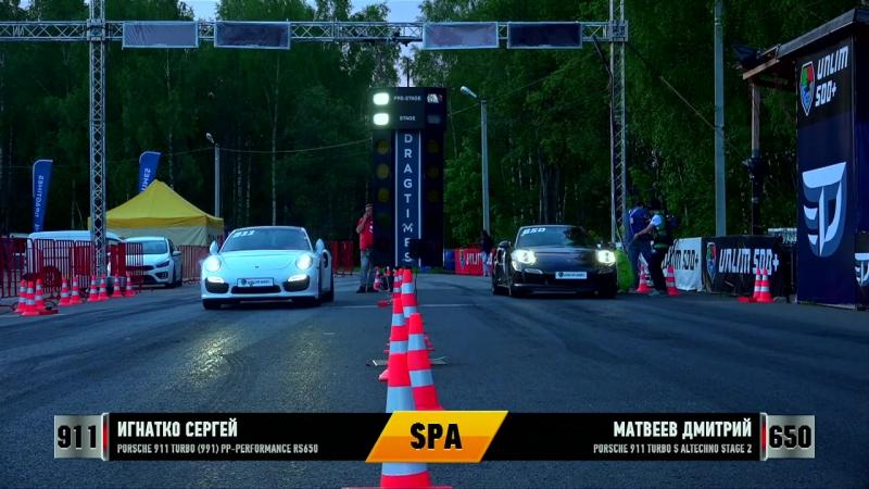 Porsche 911 Turbo S vs Porsche 911 Turbo|Unlim 500,заезд,drag racing,тачка,машина,автомобиль,спорткар,суперкар