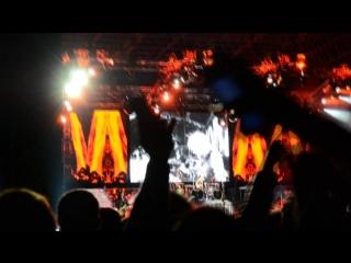 На концерте Скорпионс