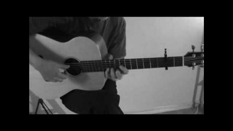 M. Tallstrom - Twin Peaks Theme on baritone guitar