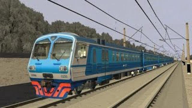 Симулятор поезда (ZDsimulator) поездка на электропоезде ЭД4М (сценарий)