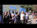 Киев:  митинг  из-за  закрытия газеты