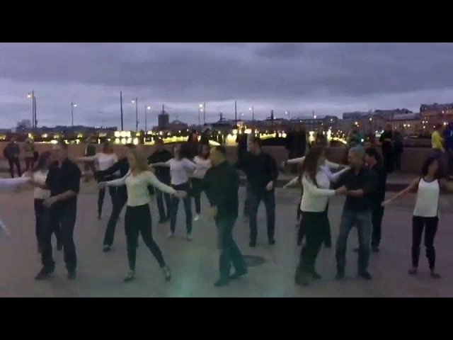 International Zouk flashmob. St. Petersburg, Russia. 19.09.2015. By Tequila Dance Studio. 1