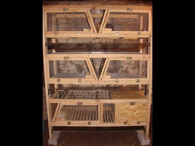 Новая клетка, кролики, клетка для кроликов