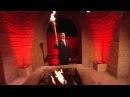 Президент Алиев зажег пламя Европейских Игр «Баку-2015» в древнем храме Атешгях (26.04.2015)