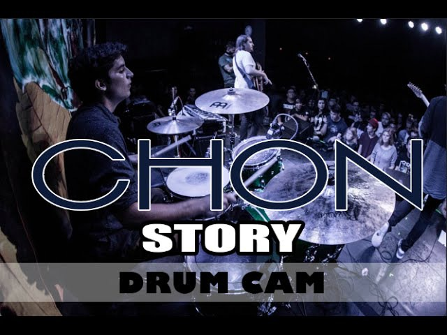 CHON | Story | Drum Cam (LIVE HD)