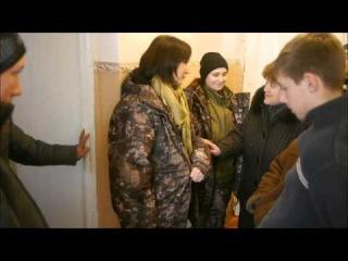 Помощь школе-интернату города Лутугино