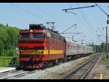 Электровоз ЧС4Т-722 со скорым поездом Круглое Поле - Москва