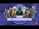 LEGO Hobbit Dol Guldur Battle - обзор Битва при Дол Гулдур Stop Motion Build Review 79014