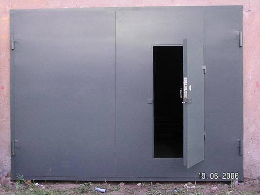 Ворота гаражные Одесса