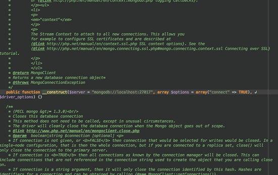 PHP MongoDB