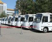 Автобусный парк Элисты пополнился 10 новыми автобусами