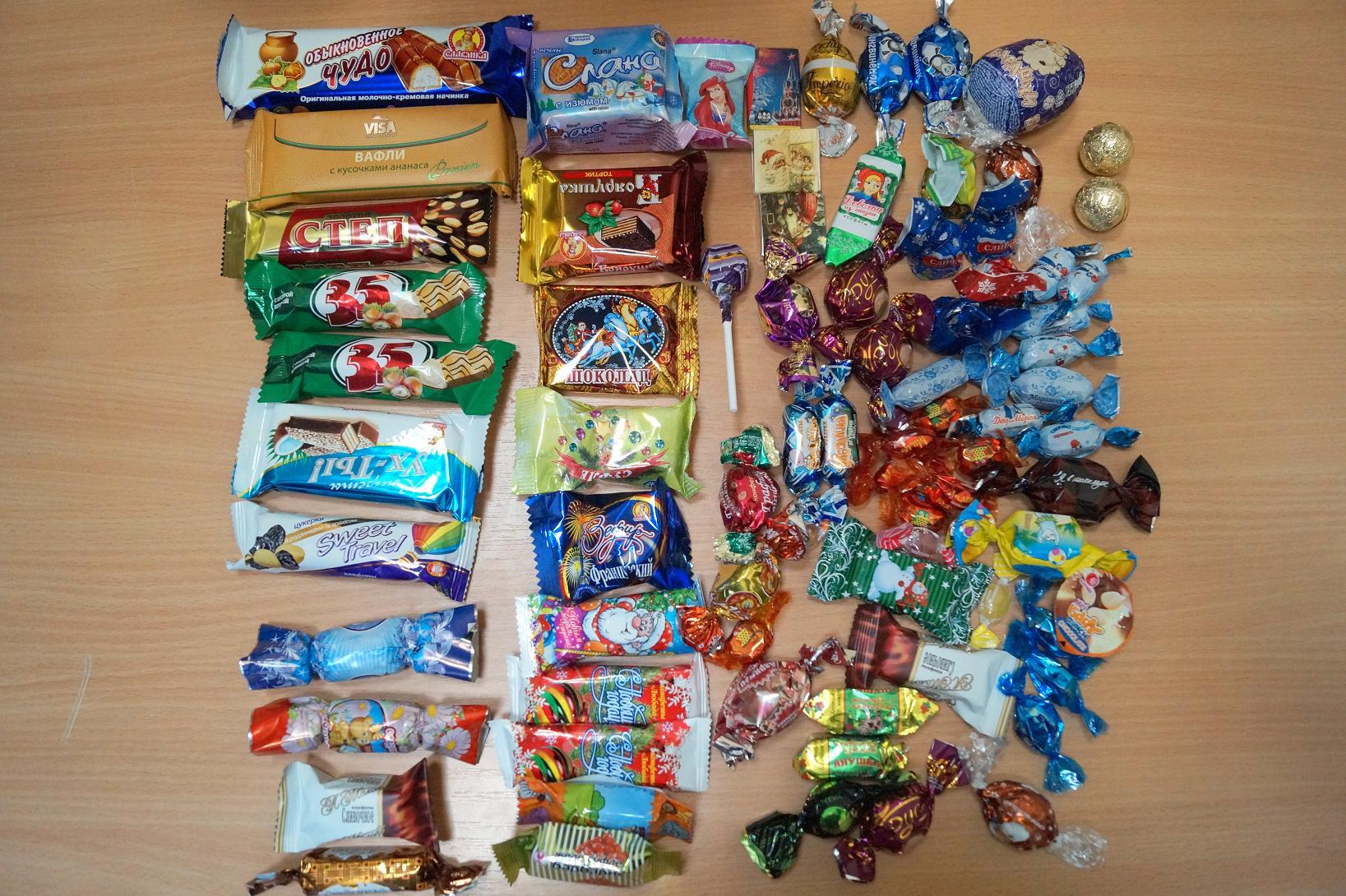 Новогодние сладкие новые подарки 43