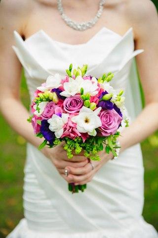 Модные свадебные букеты невесты 2 15 года - фото