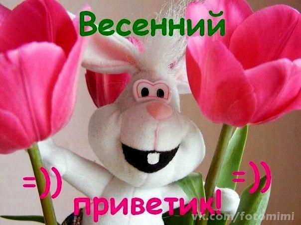 Весенний привет!