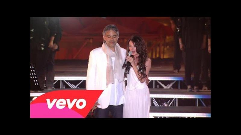Andrea Bocelli Sarah Brightman Canto Della Terra HD