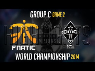 Fnatic vs OMG Game 2 S4 Worlds Highlights MUST SEE | LoL World Championship 2014 S4 FNC vs OMG