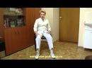 Перелом шейки бедра Имитация ходьбы сидя