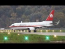 Great Visual Approach! Meridiana Boeing 737-700 Landing Take-Off (SSC Napoli)