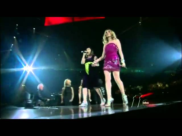 Celine Dion Charice - Because you loved me