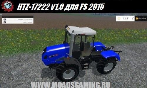 Farming Simulator 2015 download mod tractor HTZ-17222 v1.0